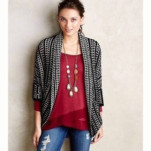 Moth Anthropologie Maija Cocoon Cardigan